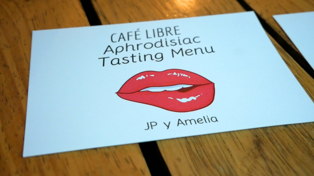 Café Libre Place Card