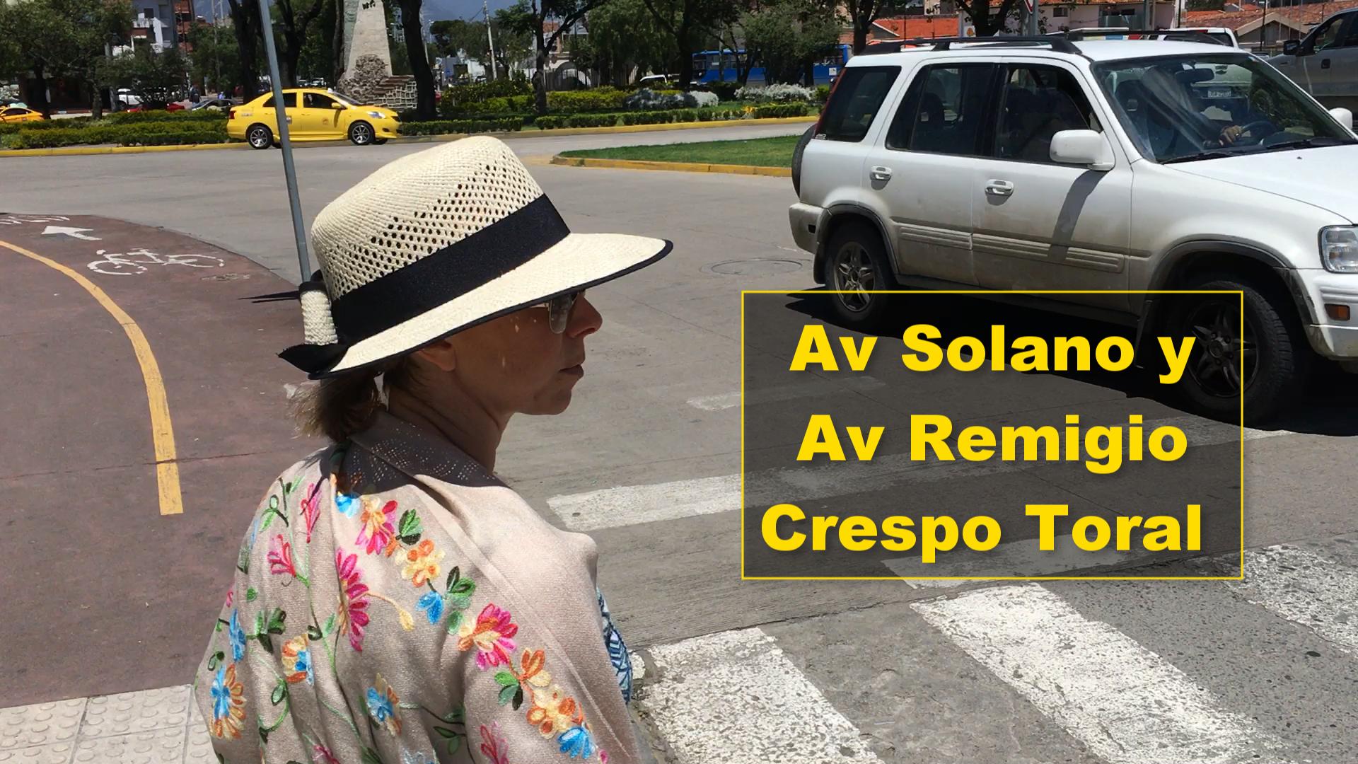 Av Solano y Av Remigio Crespo Toral Cuenca Ecuador