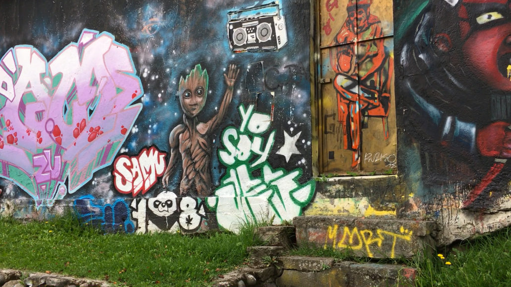 Tomebamba Graffiti Cuenca Ecuador