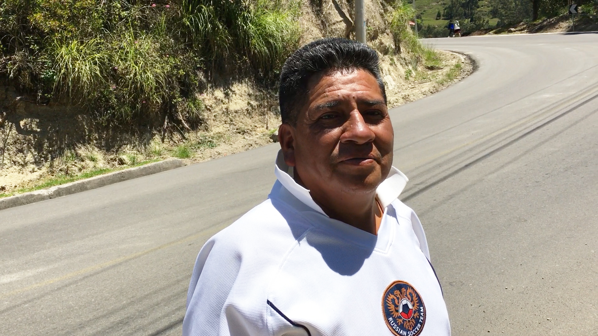 Luis in Turi Cuenca Ecuador