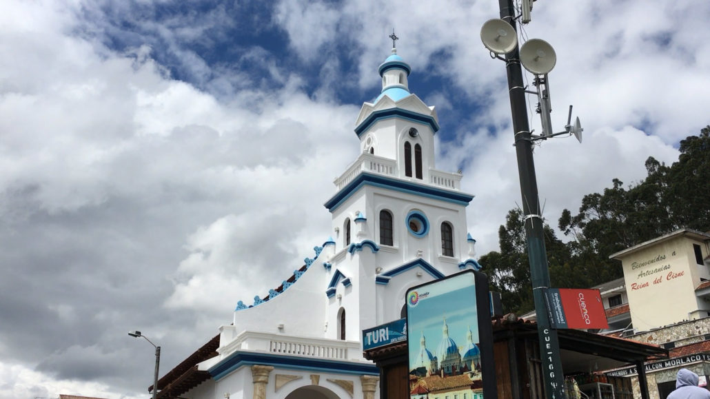 Turi Church Cuenca Ecuador