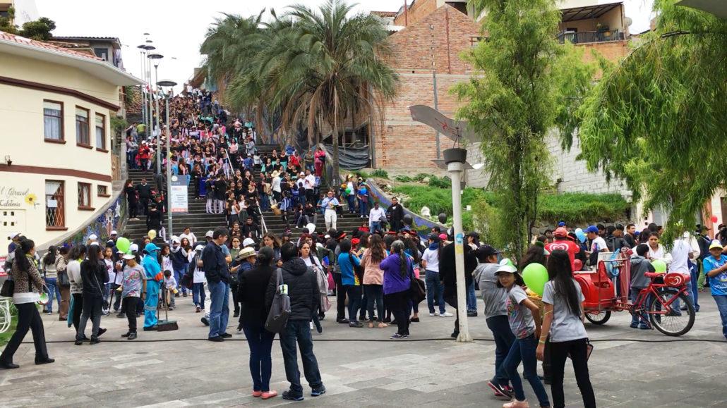 Music Festival Otorongo Stairs Cuenca Ecuador