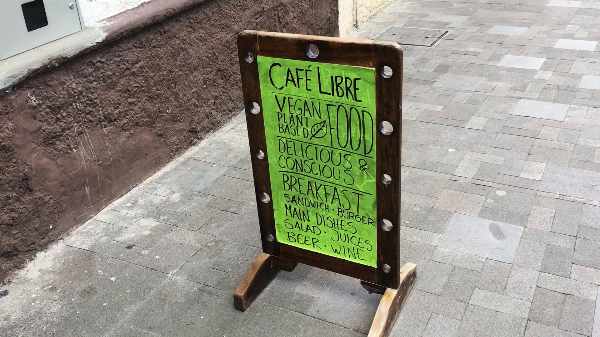 Café Libre Plant-Based Restaurant Cuenca Ecuador
