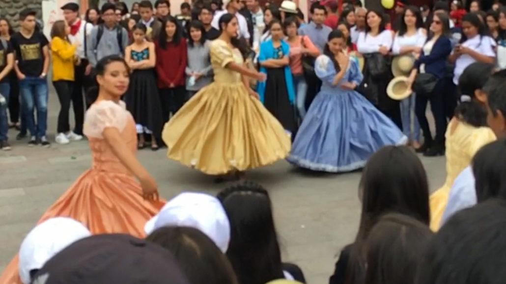 Music Festival Dancing Cuenca Ecuador