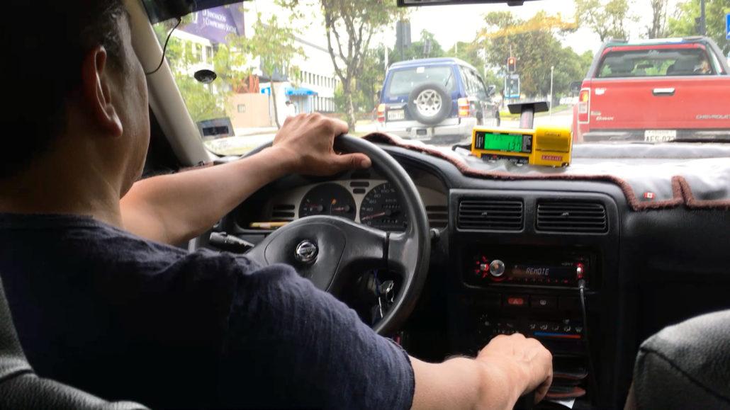 Taxi Ride Cuenca Ecuador