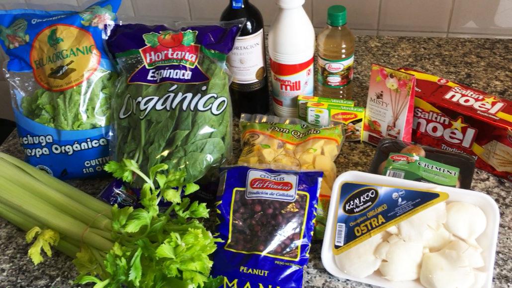 Groceries Supermaxi El Vergel Cuenca Ecuador