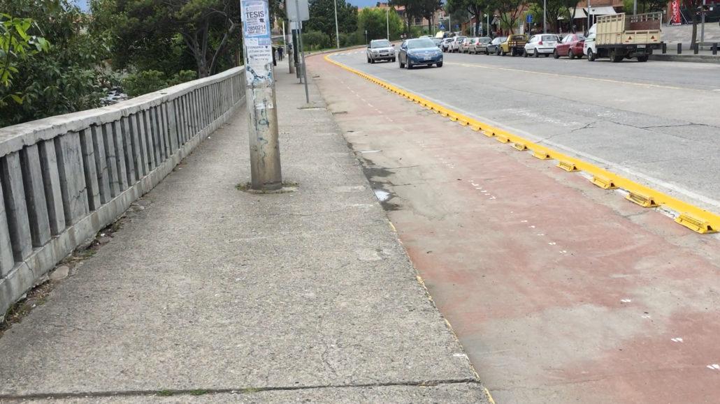 Bike Lanes Cuenca Ecuador