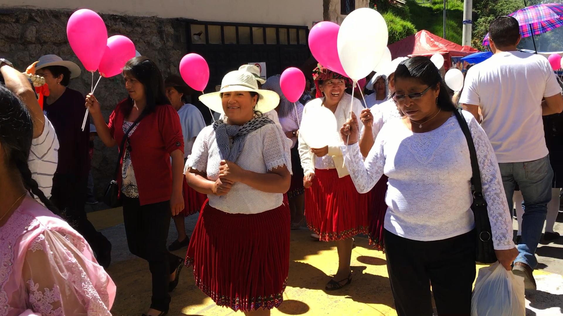 Turi Church Parade Cuenca Ecuador