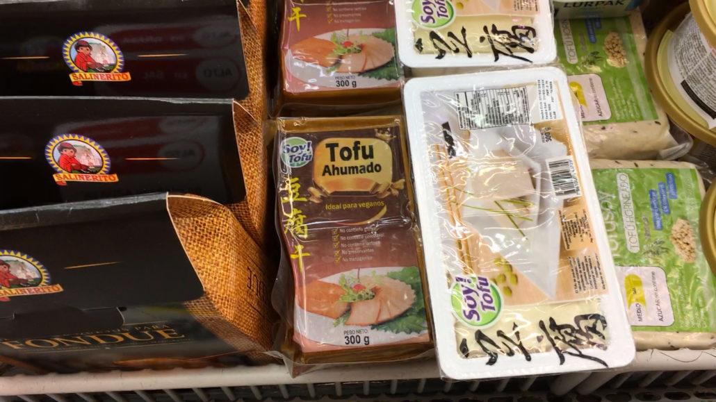 Tofu Supermaxi El Vergel Cuenca Ecuador