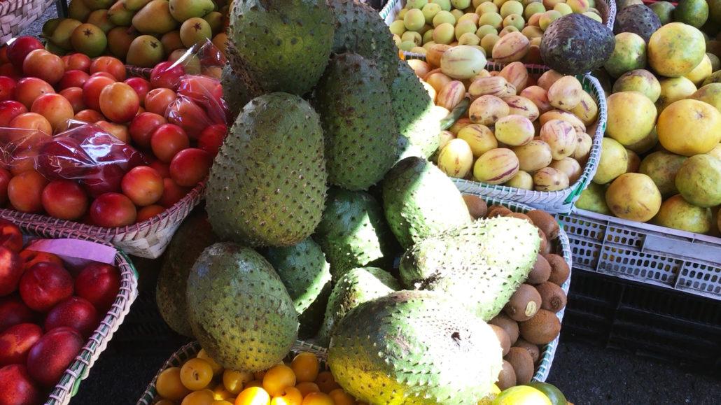 Guanábana at Mercado 27 de Febrero in Cuenca Ecuador