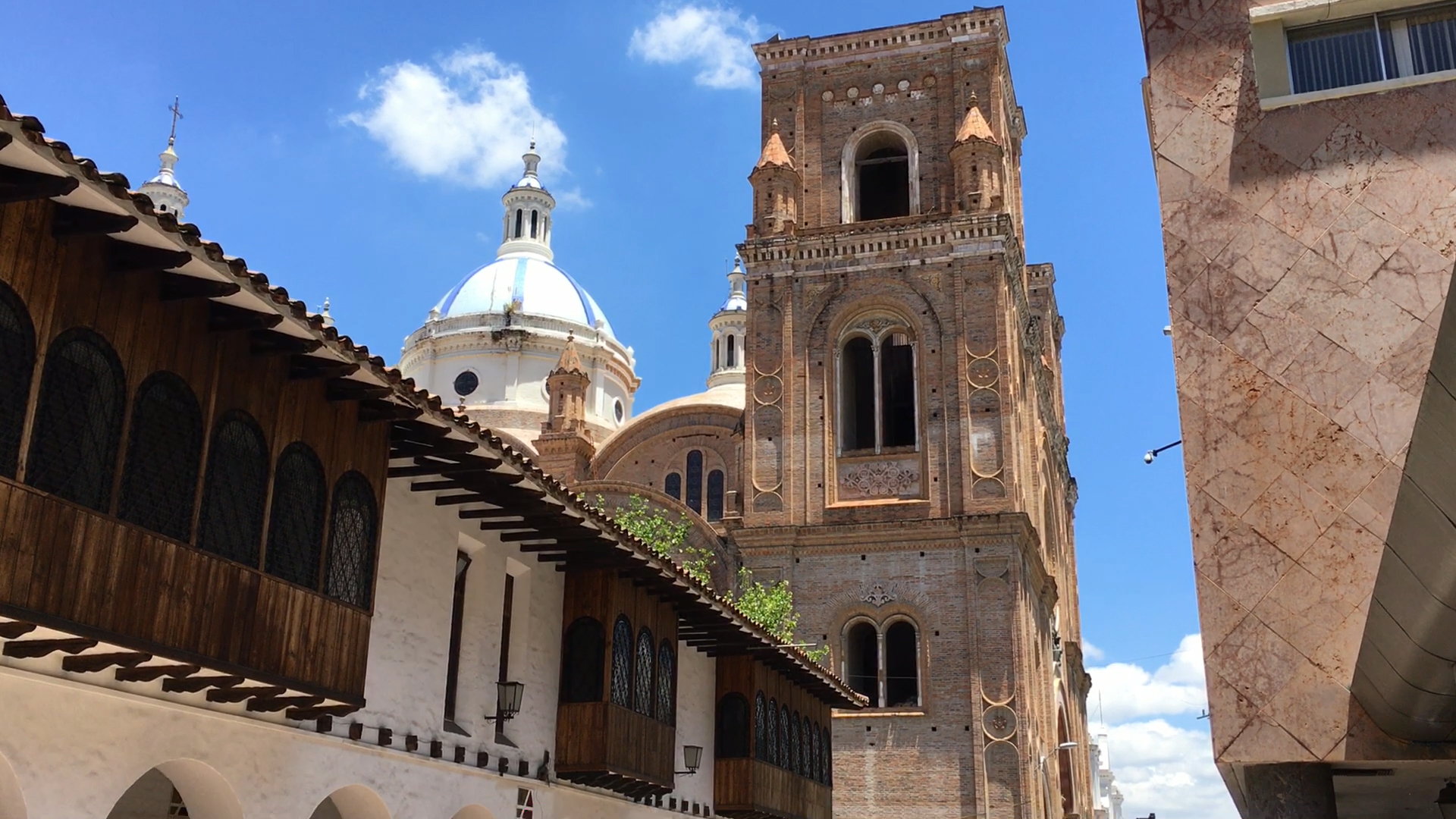The New Cathedral Cuenca Ecuador