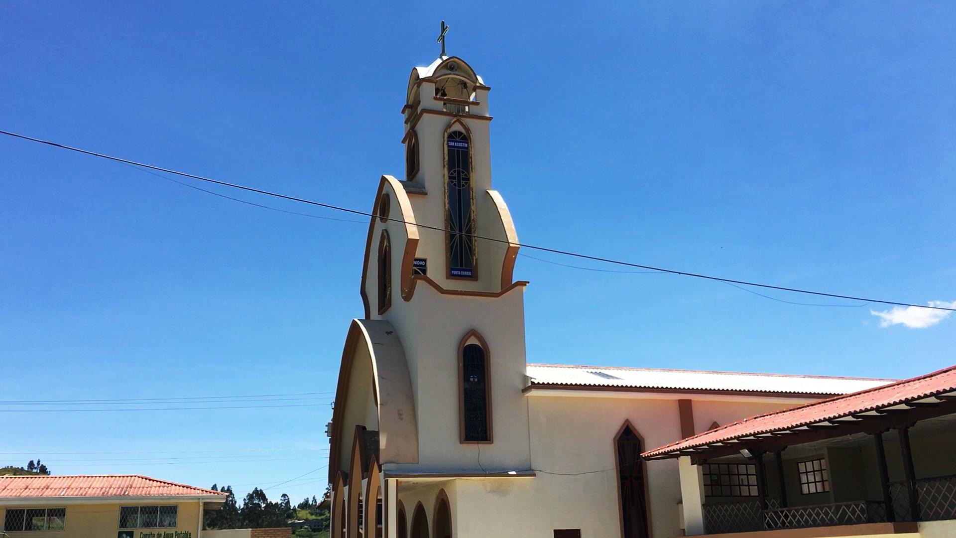 San Agustin Church Turi Cuenca Ecuador