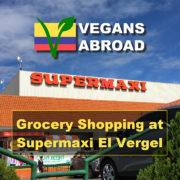 Grocery Shopping Supermaxi El Vergel Cuenca Ecuador