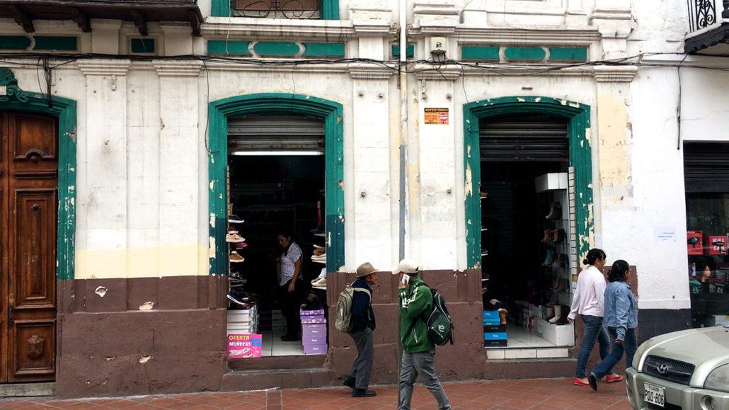 Shoe Shopping in Cuenca Ecuador Store