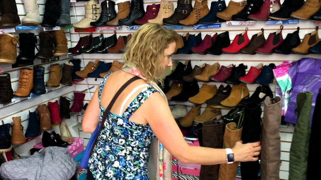 Shoe Shopping in Cuenca Ecuador Shoes
