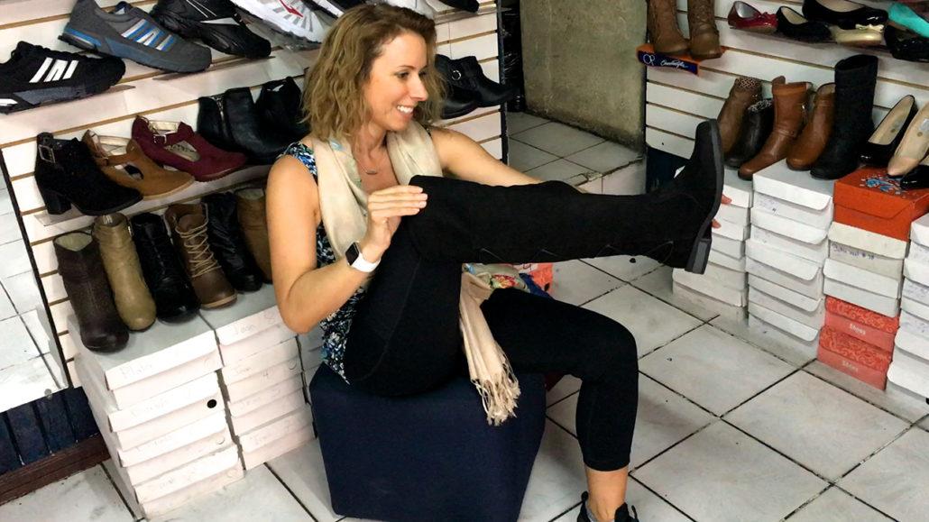 Shoe Shopping in Cuenca Ecuador Emily Shoes