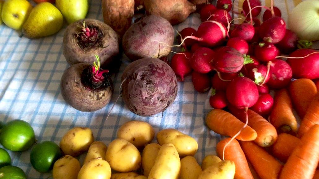 Beets Radishes Cuenca Ecuador
