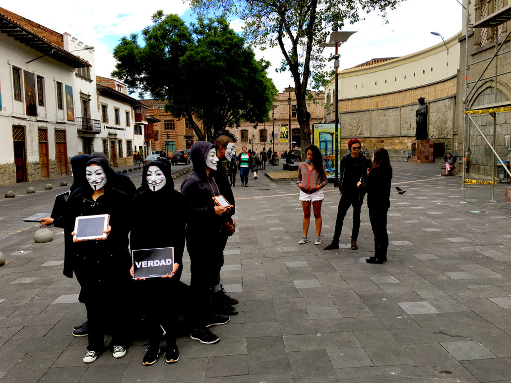 Cube of Truth 1 Cuenca Ecuador