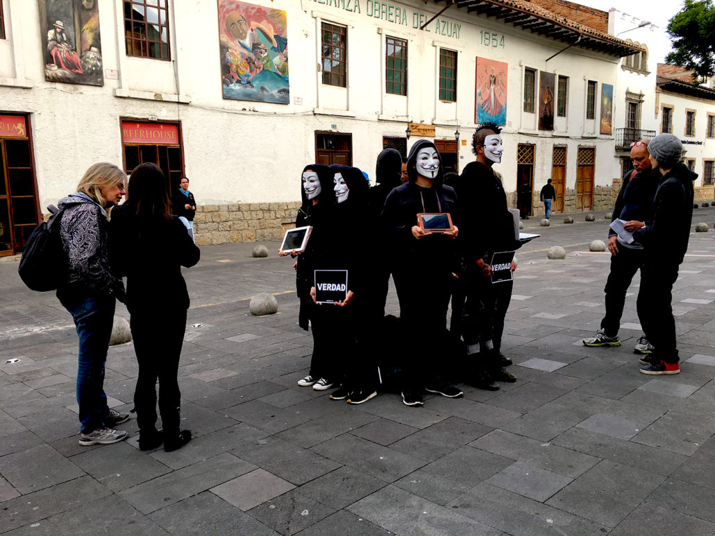 Cube of Truth 2 Cuenca Ecuador