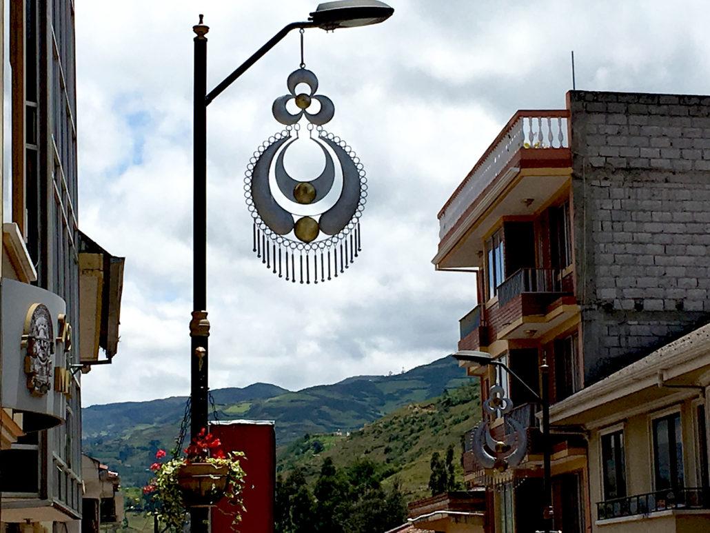 Earring Lightpost Chordeleg Ecuador