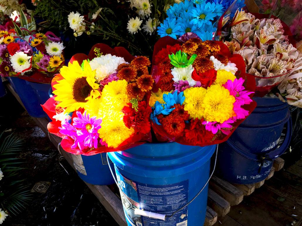 Cuenca Flower Market Cuenca Ecuador