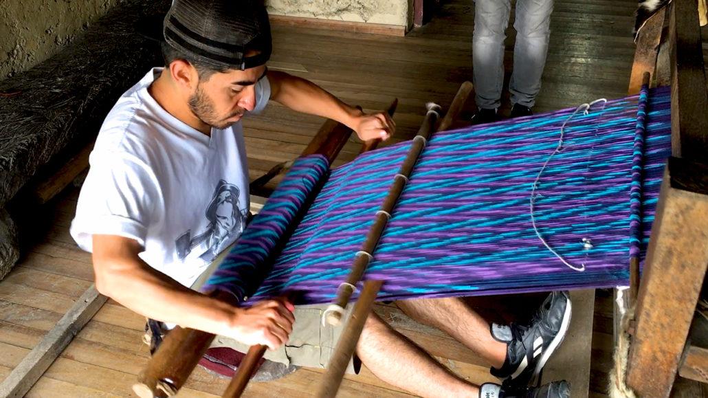Macana Weaving Gualaceo Ecuador