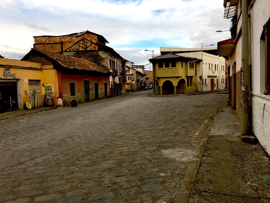 Old Buildings Cuenca Ecuador