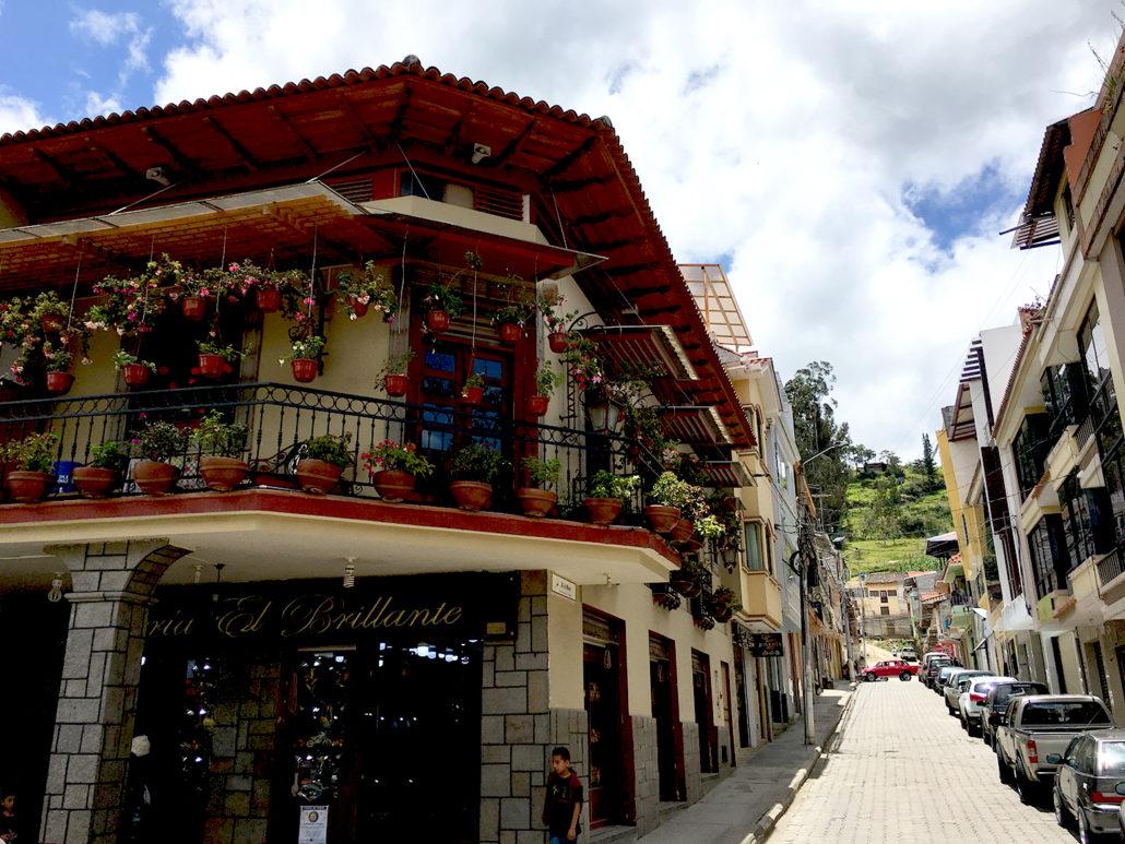 Street Corner Chordeleg Ecuador