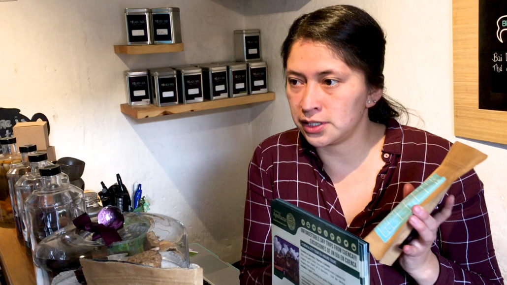 Telicioso Owner Tea Bag Cuenca Ecuador