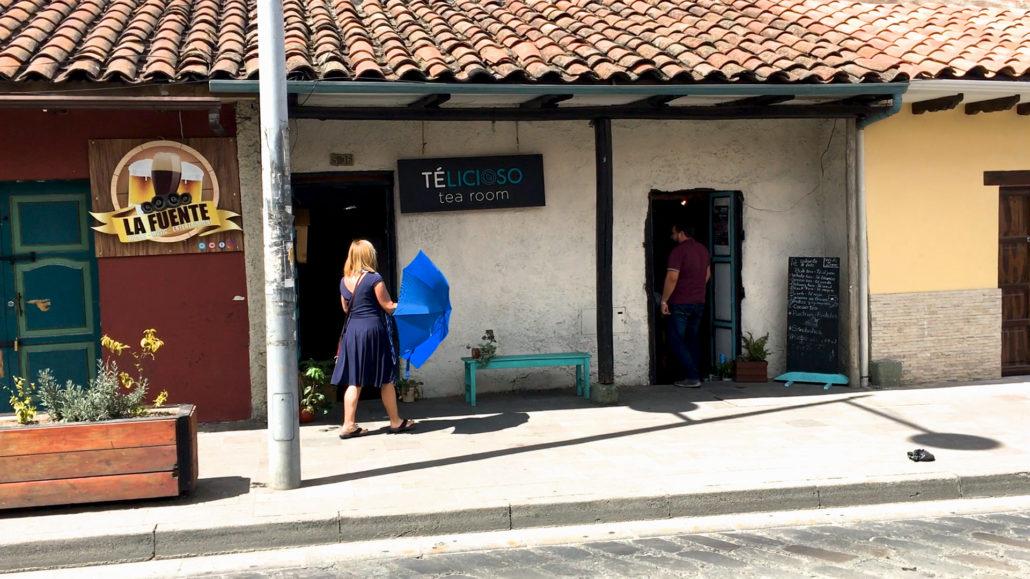 Telicioso Tea Room Cuenca Ecuador