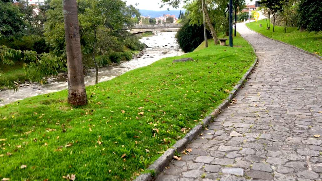 Tomebamba Riverwalk Cuenca Ecuador