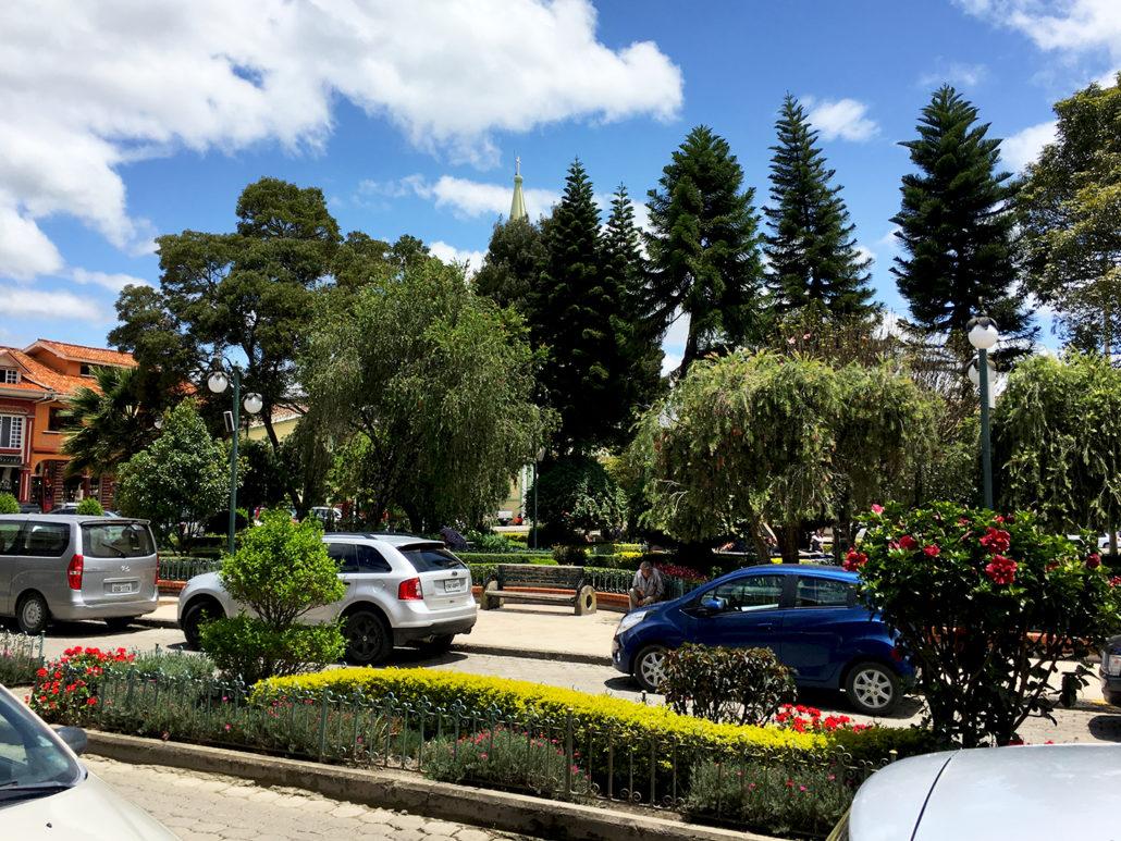 Town Square Chordeleg Ecuador