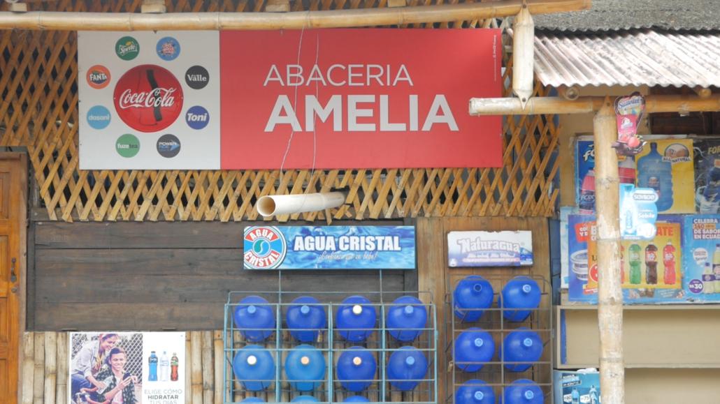 11 Olón Ecuador Amelia Sign