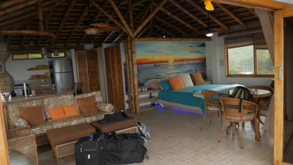 Ecuador Beach Vacation Villa de Los Sueños Penthouse Room
