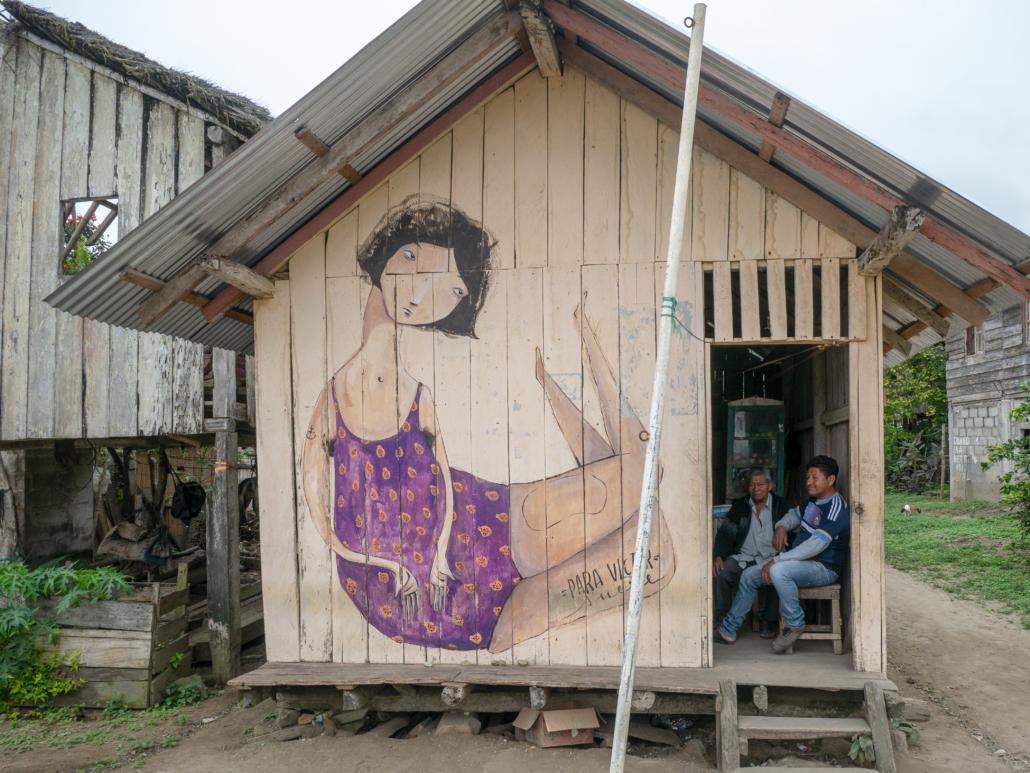 9 La Curia Ecuador Mural