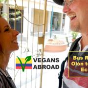 Bus Ride from Olón to Cuenca Ecuador