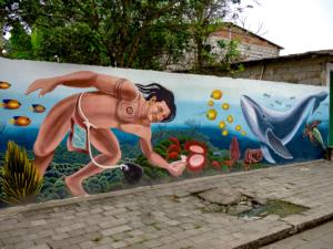 La Entrada Ecuador Mural 3