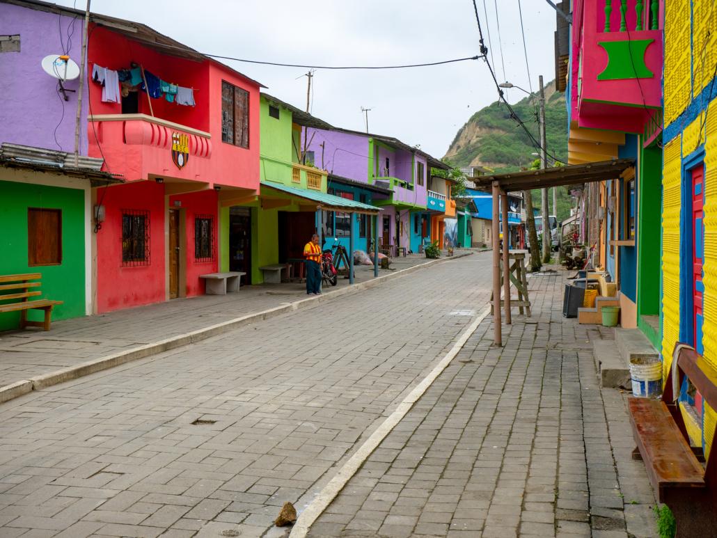 La Entrada Ecuador Street
