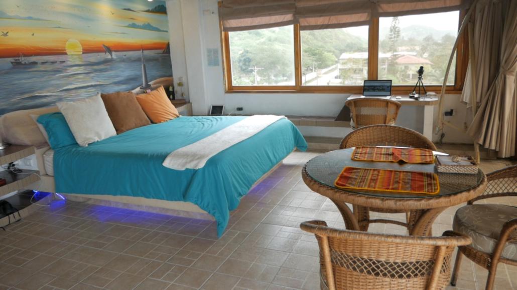 Villa de Los Sueños La Entrada Ecuador Bedroom