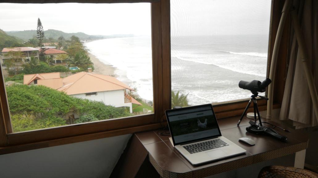 Villa de Los Sueños La Entrada Ecuador Bedroom View