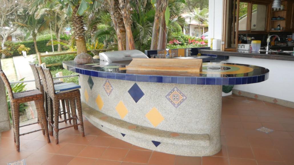 Villa de Los Sueños La Entrada Ecuador Breakfast Bar