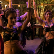 Belly Dance Fundraiser at Fratello Vegan in Cuenca Ecuador