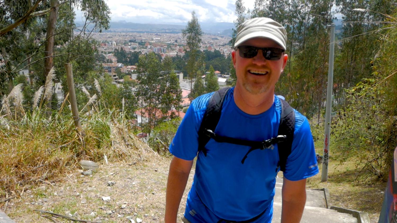 Best Free Cardio in Cuenca Ecuador JP Turi Stairs