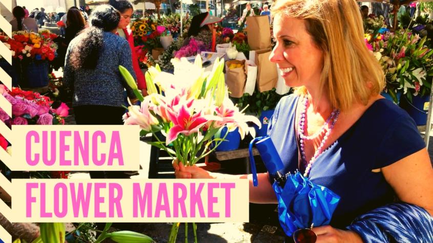 Cuenca Flower Market