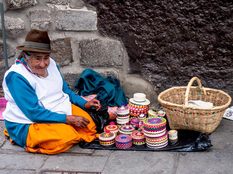 Cuenca Ecuador Abuelita