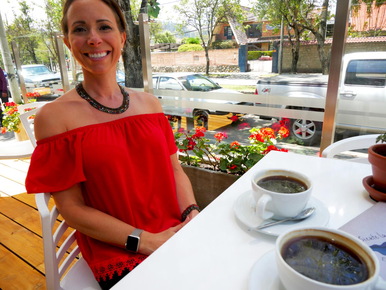Goza Cafe Cuenca Ecuador Amelia