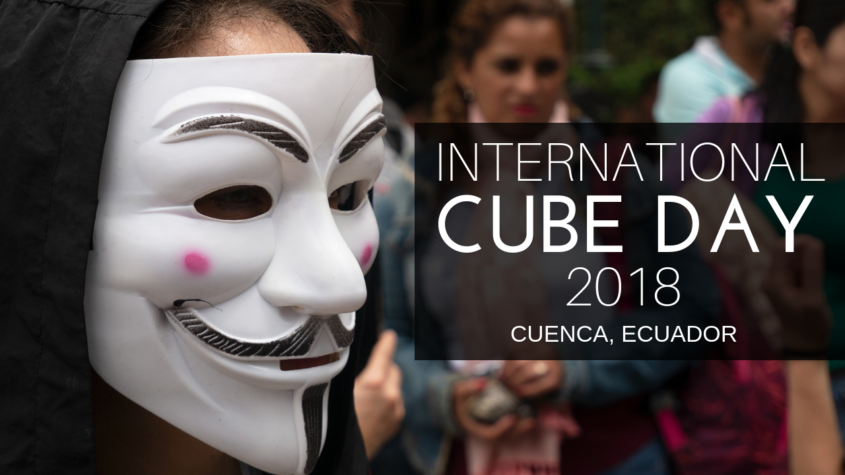 International Cube Day 2018 Cuenca Ecuador