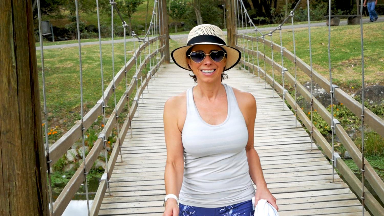 Parque Paraíso Cuenca Ecuador Amelia Bridge