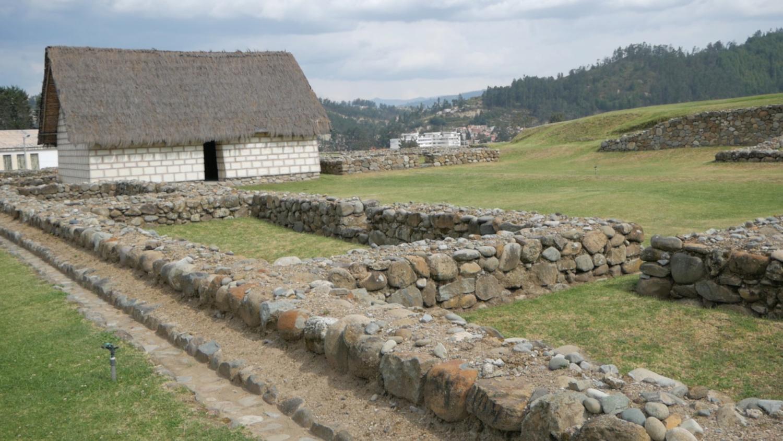 Pumapungo Inca Ruins Cuenca Ecuador Inca Building