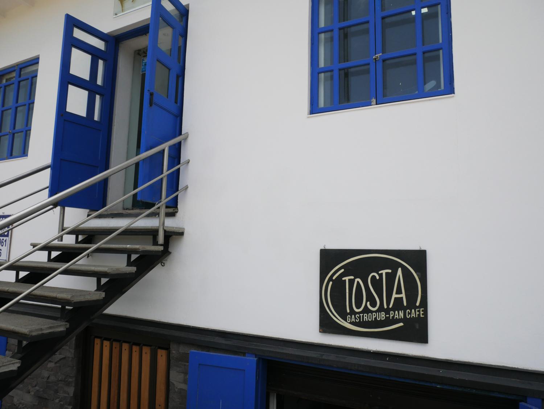 Tosta Cuenca Ecuador Sign
